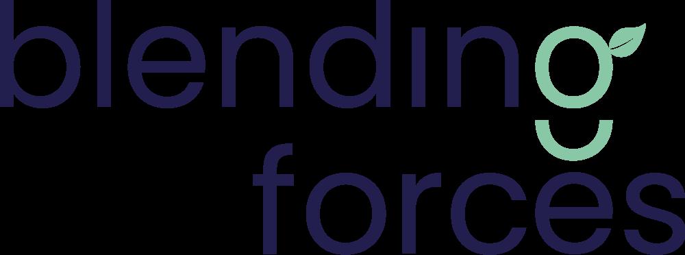 Logo Blending Forces